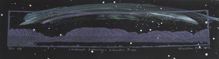 Landscape Dreaming -- Labrador River