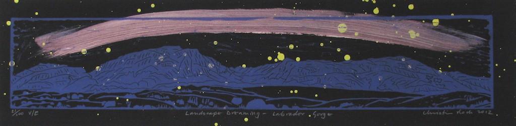Landscape Dreaming -- Labrador Gorge