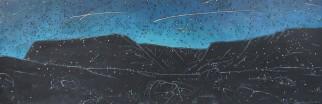 Nocturne: Tablelands with Meteor Shower